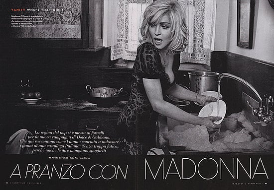 Fab Ad: Madonna for Dolce and Gabbana