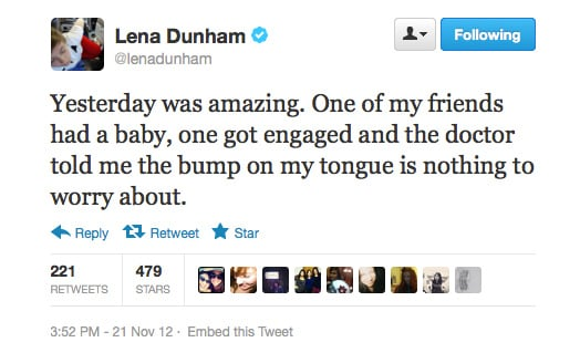 It's good news all round for Lena.