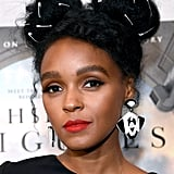 Janelle Monáe With Safety Pins in Her Hair Part 1
