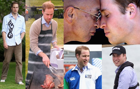 Photos of Prince William in Australia and New Zealand 2010-01-19 06:00:00
