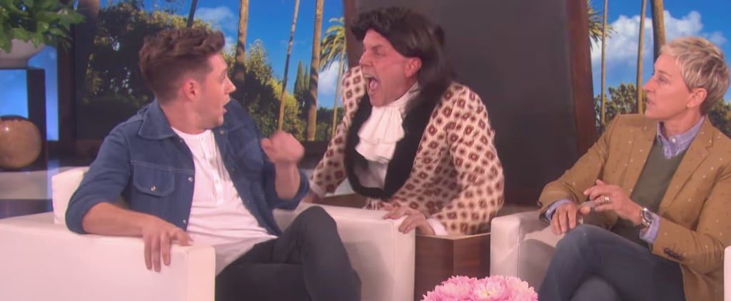 "Ellen DeGeneres Gets ""Harry Styles"" to Scare the Living Daylights Out of Niall Horan"