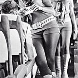 """In 1973 Southwest Airlines threw caution to the winds with its stewardess uniform. 'The girls must be able to wear kinky leather boots and hot pants or they don't get the job,' said the airline's male bosses."""