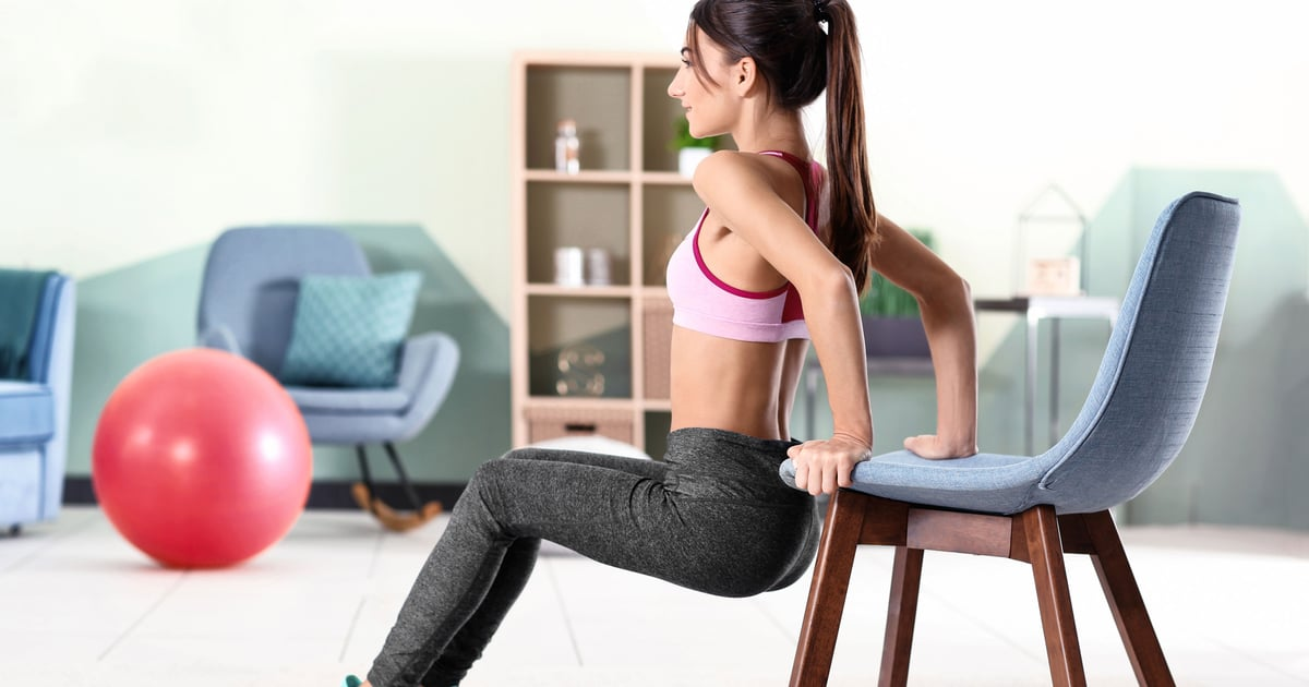 This is the 30-Minute Full-Body Workout I've Been Doing Using My Coffee Table and Chair