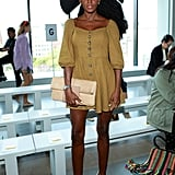 Cipriana Quann at the Ryan Roche New York Fashion Week Show