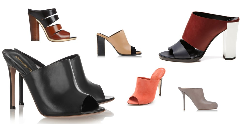 Shoe Trend to Try: New School Mules. Shop our Online Edit