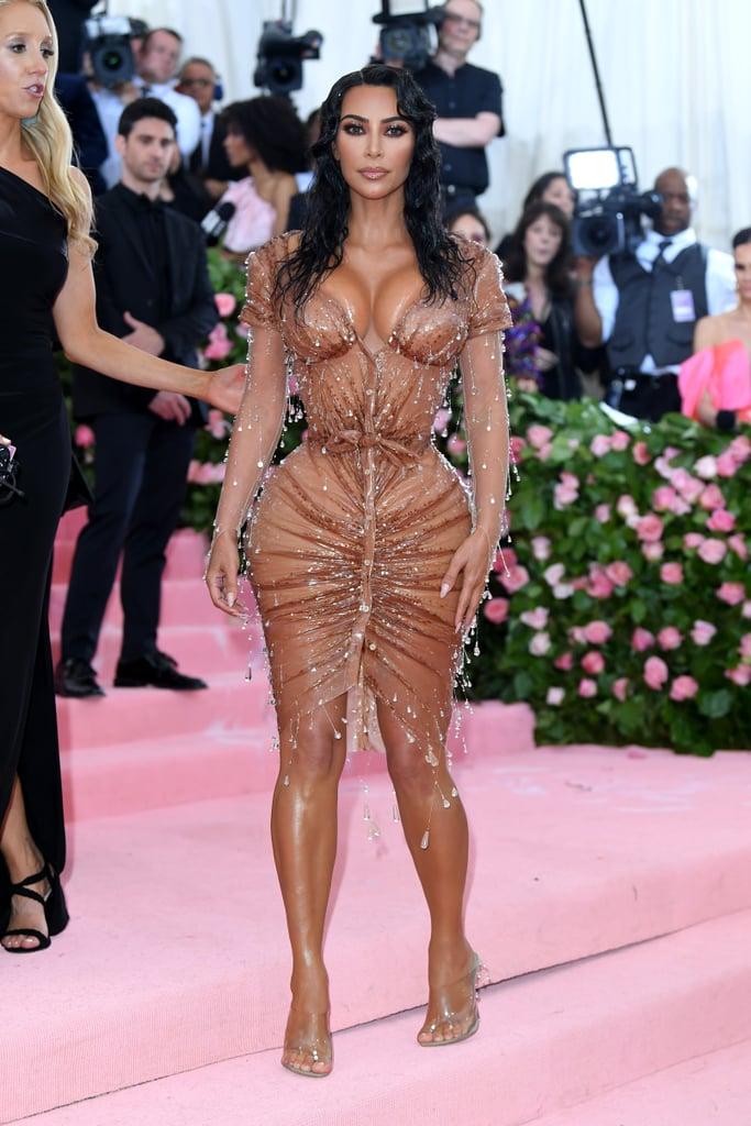 Kim Kardashian Dress at the 2019 Met Gala   POPSUGAR ...