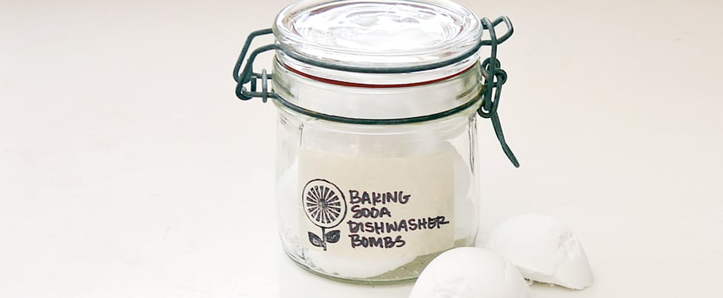 DIY Dishwasher Baking-Soda Bombs