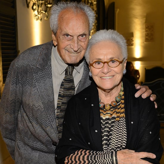 Ottavio Missoni and Rosita Missoni