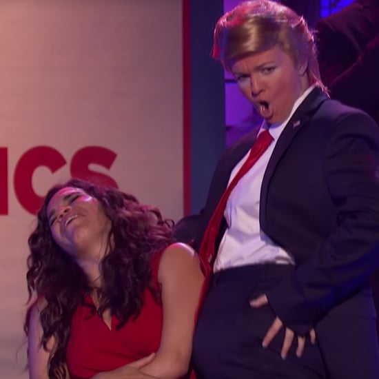 Amber Tamblyn Donald Trump Lip Sync Battle Video 2016