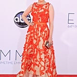 Ginnifer Goodwin wore a Monique Lhuillier gown to the Emmys.