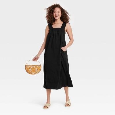 Low-Maintenance Elegance:A New Day Ruffle Sleeveless Dress
