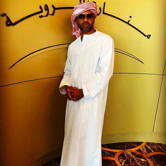 Mike Epps Dons Traditional Emirati Clothes in Abu Dhabi