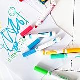 أقلام التّخطيط التي نفذت من الحبر وغير ذلك من المستلزمات الفنيّة الأُخرى