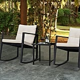 Devoko 3 Piece Rocking Bistro Set