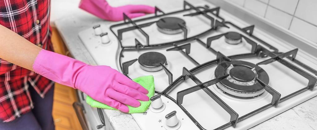 كيفيّة تنظيف سطح موقد الطبخ