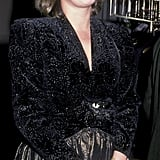 Princess Annie-Laurie von Auersperg at the 1986 Met Gala
