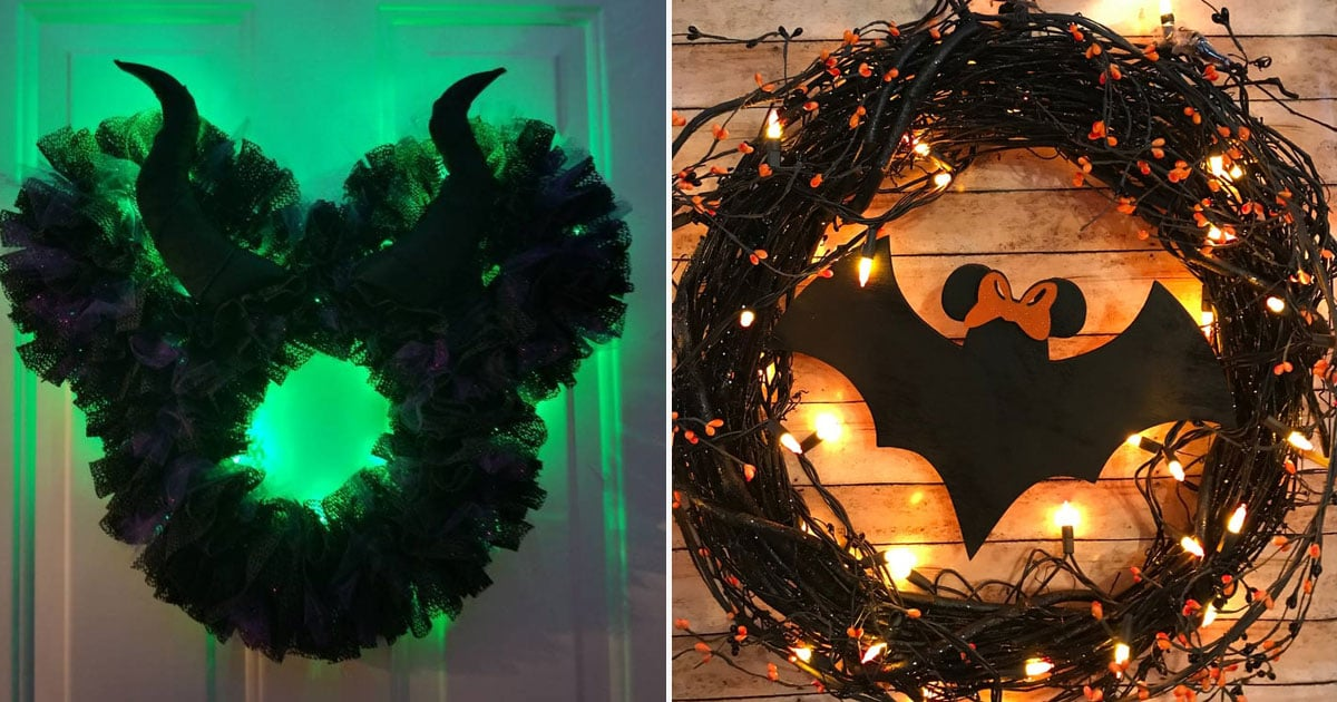 12 Disney Halloween Wreaths That Are the Perfect Mix of Spooky and Magical