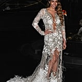 Dellilah in Julien Macdonald