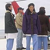 T.R Knight, Sandra Oh, and Chandra Wilson