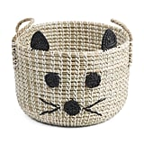 Kitty Face Storage Basket