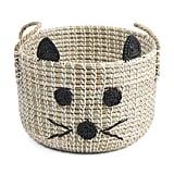 Kitty Face Storage Basket
