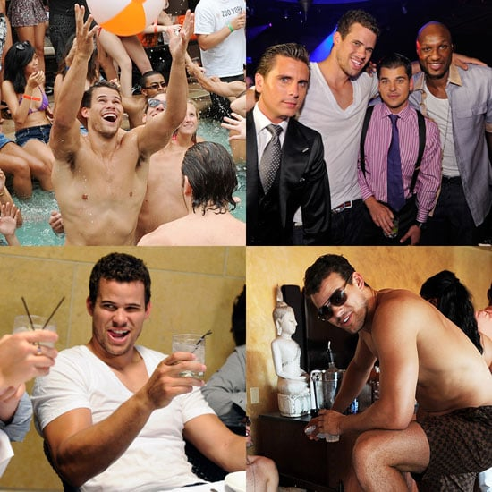 Kris Humphries Toasts to His Final Days as a Bachelor With a Wild Weekend in Vegas!