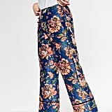 Zara Cropped Printed Trousers ($40)