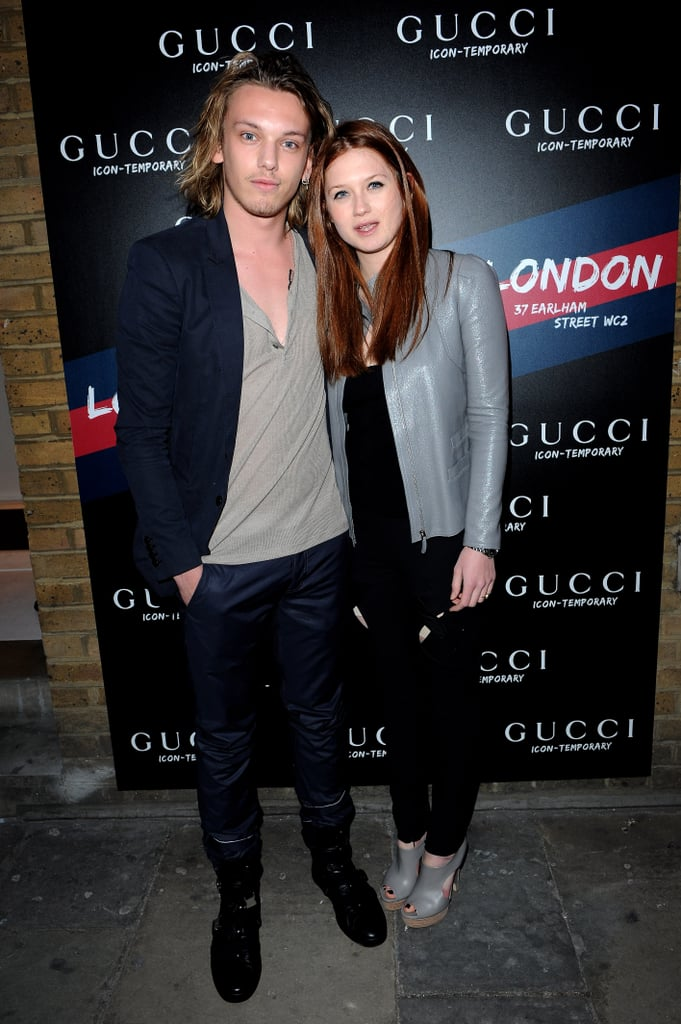 Photos of Jamie Campbell Bower Engaged to Bonnie Wright Ring