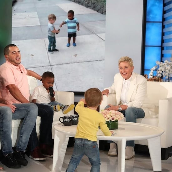 Ellen DeGeneres Met Those Viral Hugging Toddlers