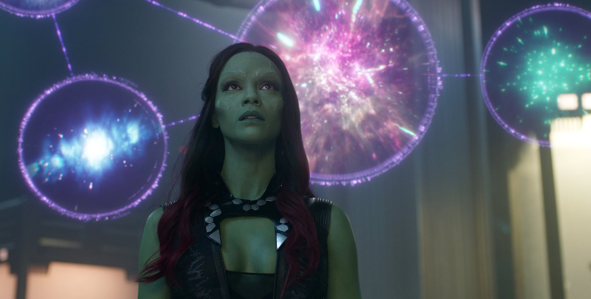 GUARDIANS OF THE GALAXY, Zoe Saldana, 2014. Walt Disney Studios Motion Pictures/Courtesy Everett Collection