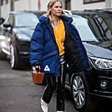 Winter Outfit Idea: A Cozy Puffer and PVC Pants