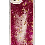 Skinnydip London Pink Glitter Case ($27)