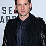 Josh Lucas went for a black jacket for the premiere.