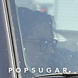 Kristen Stewart was spotted in a car for the first time postsplit.