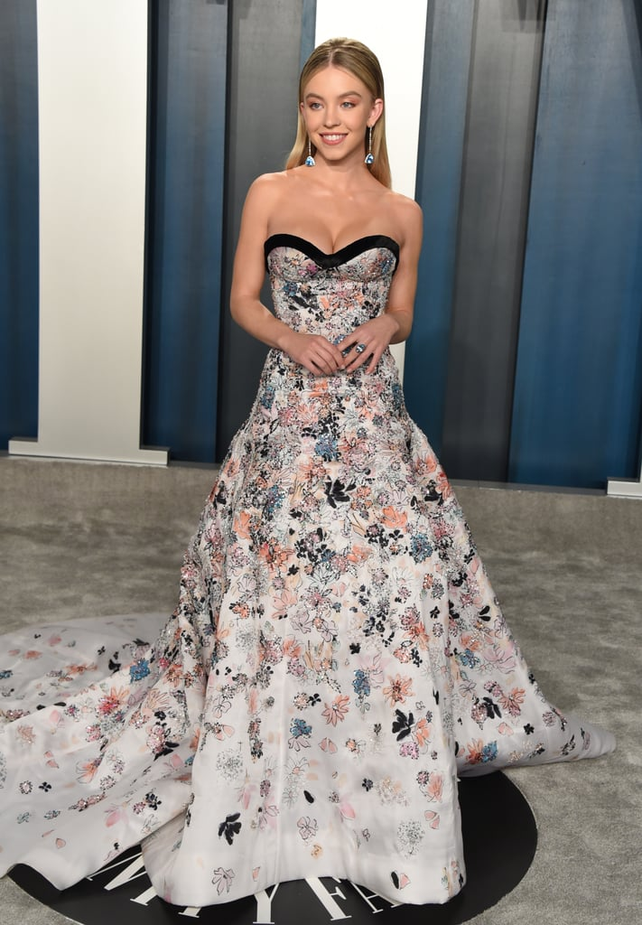 Sydney Sweeney at the Vanity Fair Oscars Afterparty 2020