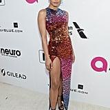 Danielle Herrington at the 2019 Elton John AIDS Foundation Academy Oscars Party