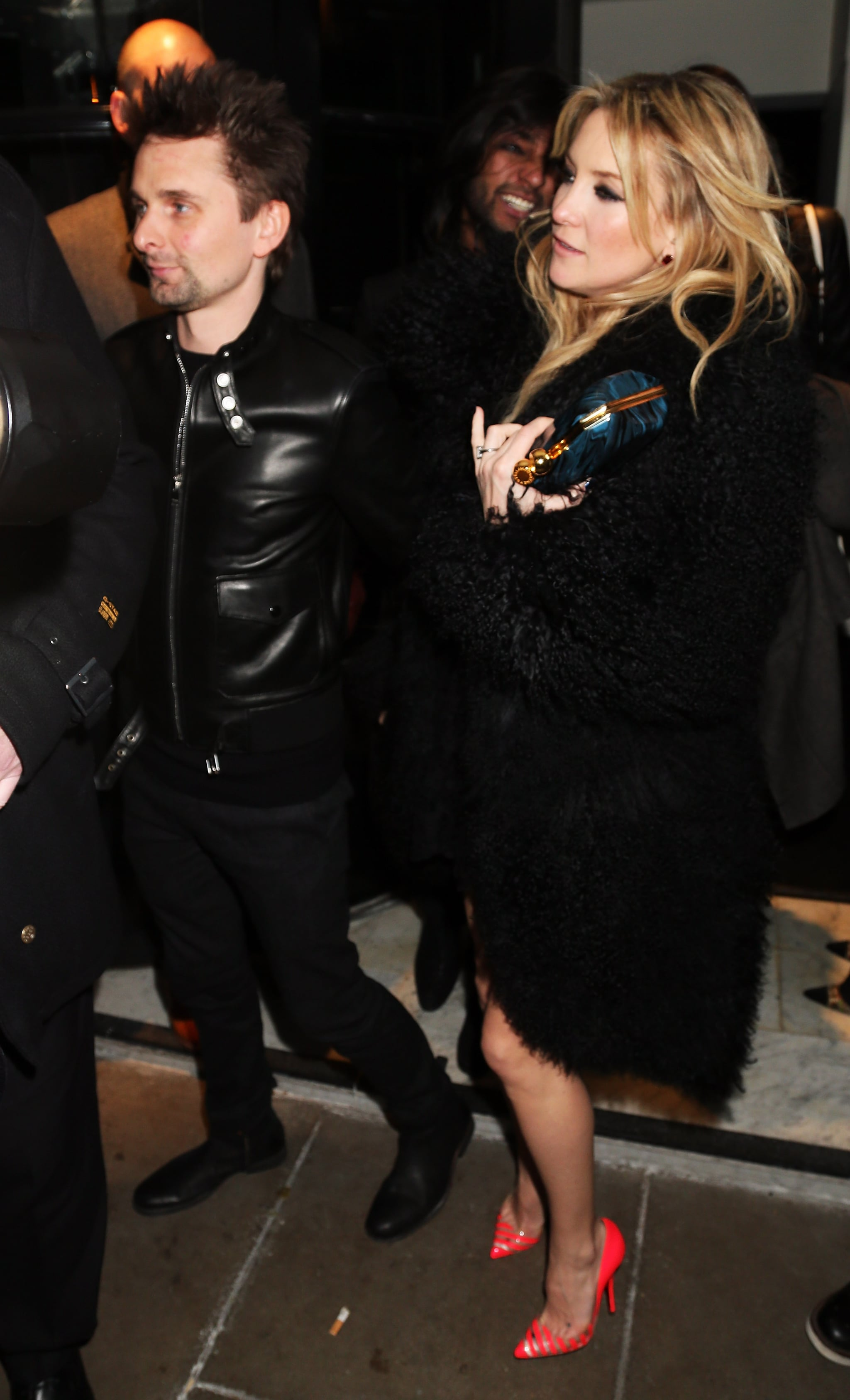 Kate Hudson Dances on a Banquette With Matthew at a Brits Afterparty!