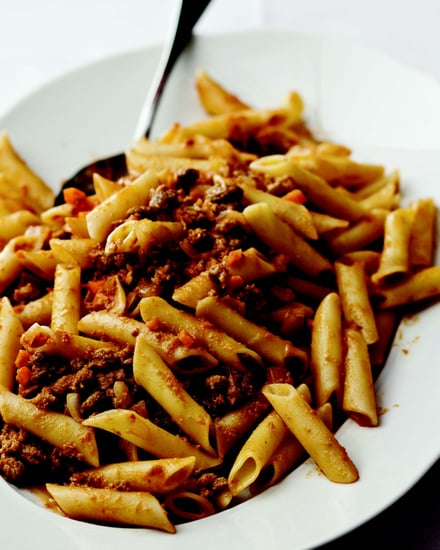 "Ziti with ""Extra"" Veal Ragu"