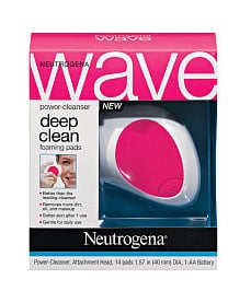 Review of Neutrogena Wave Power-Cleanser and Deep Clean Foaming Pads