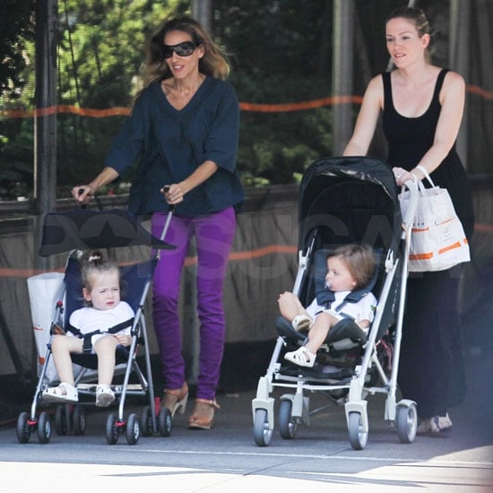 Sarah Jessica Parker Pictures With Tabitha and Loretta