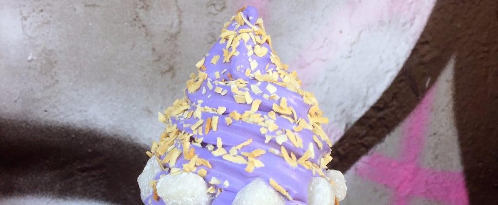 What Does Purple Ube Ice Cream Taste Like?