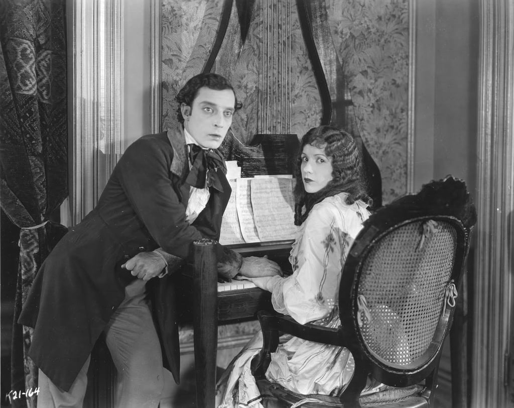 Buster Keaton and Natalie Talmadge
