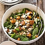 Roast Pumpkin, Spinach, and Feta Salad