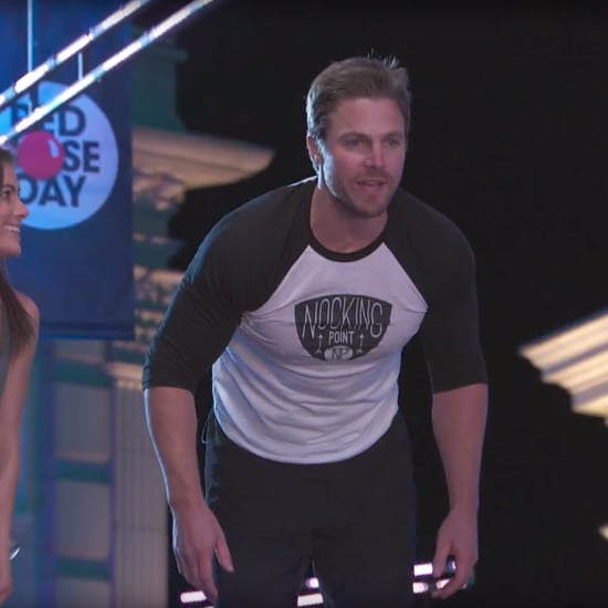Stephen Amell on American Ninja Warrior