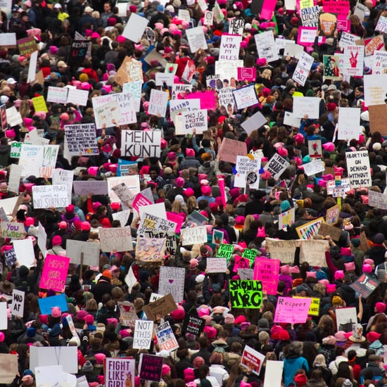 Women's March Anniversary Tweets