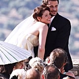 Gemma Arterton married Stefano Catelli in Andalucia, Spain, in June 2010.