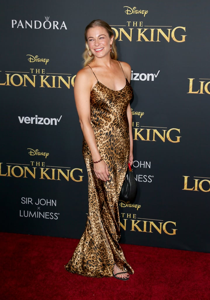 Pictured: LeAnn Rimes at The Lion King premiere in Hollywood.