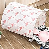 Flamingo Print Storage Basket