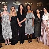 Camila Cabello With Aja Naomi King, Elle Fanning, Ashley Benson, Andie MacDowell, Liya Kebede, and Eva Longoria