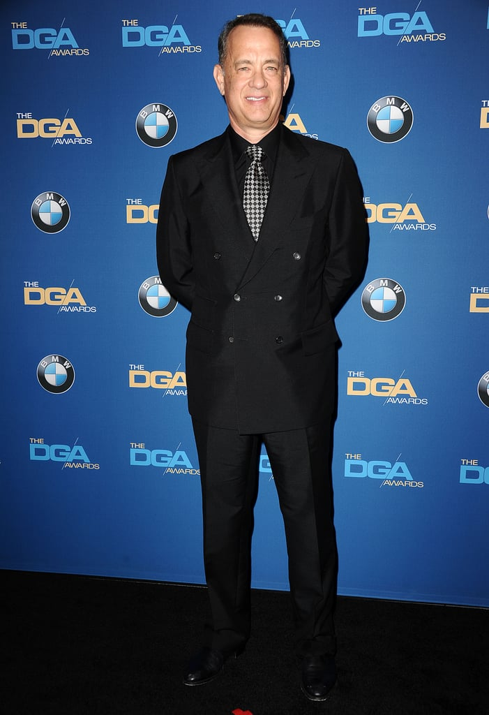 Tom Hanks stepped out for the Directors Guild Awards.